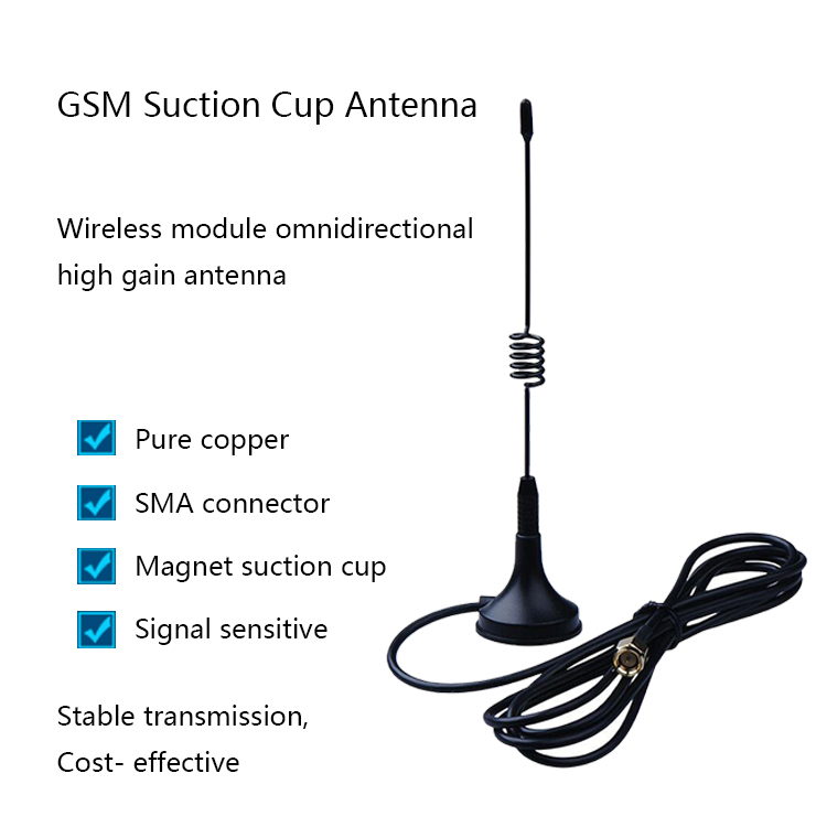 Telescopic Antenna SMA/RP-SMA Male Plug 433.92 Mhz Wireless Car Antenna