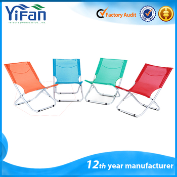 Outdoor Folding Beach Sun Lounger Chairs Portable Chaise Lounge Chair