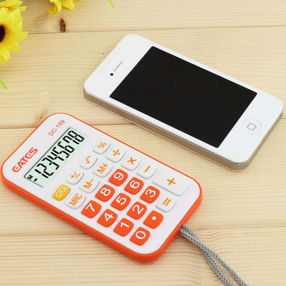 Promotion Gift 8 Max. Digits Mini Calculator Colorful Good Quality Business Portable Pocket Calculator