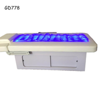 2018 luxury electric water massage bed facial table water spa bed