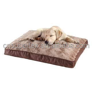 New design printed fleece dog Pet Bed Quality Wholesale Lovely Cute Dog Bed With Cover Heated Pet Bed Warmer