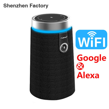 Home Amazon Alexa Voice Controlled Speakers Smart Google Assistant Wifi Speaker
