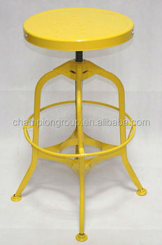 Phenomenal Yellow Color Cheap Metal Bar Stools Stacking Vintage Industrial Metal Bar Stool Mx 0280M Buy Retro Bar Stools Metal Bar Stool Cheap Price Outdoor Onthecornerstone Fun Painted Chair Ideas Images Onthecornerstoneorg