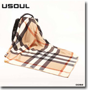 Temperament Fashion Long Satin Printed Scarves Wholesale Business Mens Silk Scarf