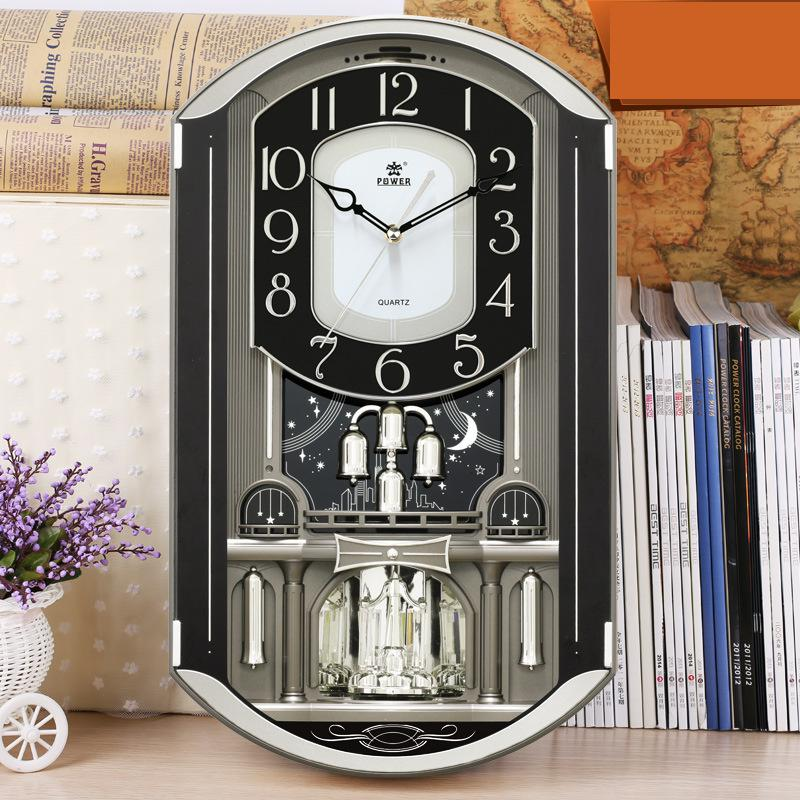 Home Decor Large Wall Clock Modern Design Large Decorative