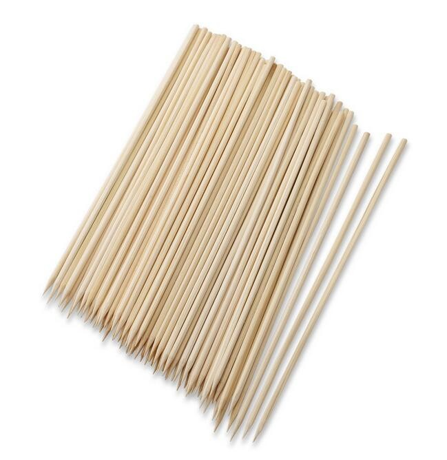 natural thick bamboo skewers/sticks