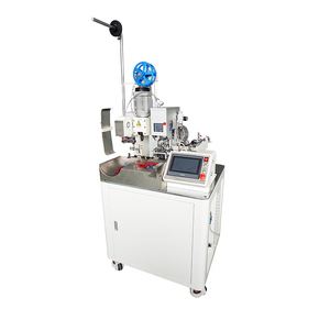 Full Automatic one end fully automatic terminal crimp machine DZF-D05