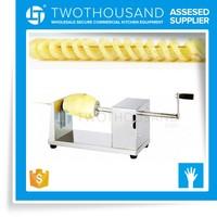 Sale 2017 Snack Food Manual Tornado Potato Cutter Machine