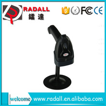Free Hand Held Laser Barcode Scanner / hot used in supermarket barcode scanner RD-200 wireless laser