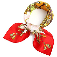 fashion adult custom printing scarf square bandana