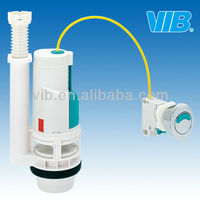 Long using life UPC Certificate fluh valve wire control dual flush mechanism