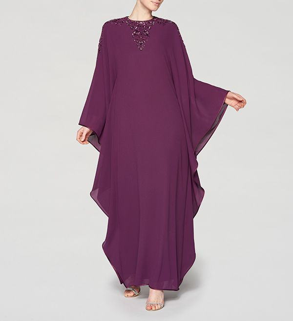 Solid Abaya Women Long Sleeves Style Dubai butterfly dubai abaya kaftans