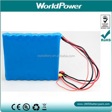 High Performance 16S1P 60V 2.2Ah Battery for solo wheel/monocycle/unicycle