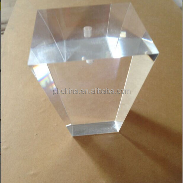 80*80*100 Mm Acrylic Sofa Legs With A Hole For Installment On The
