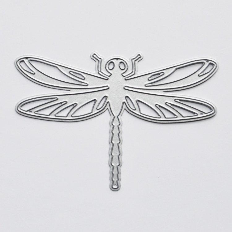 Fashion Design Dragonfly Shape Scrapbook Paper Cutting Dies