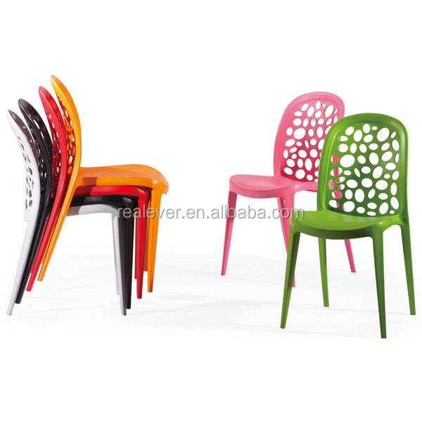 Whole Pp Famous Design Stackable Plastic Dining Chair
