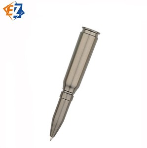 New Design Cartoon Bullet Shaped Ball Point Pen with Customized Logo for school
