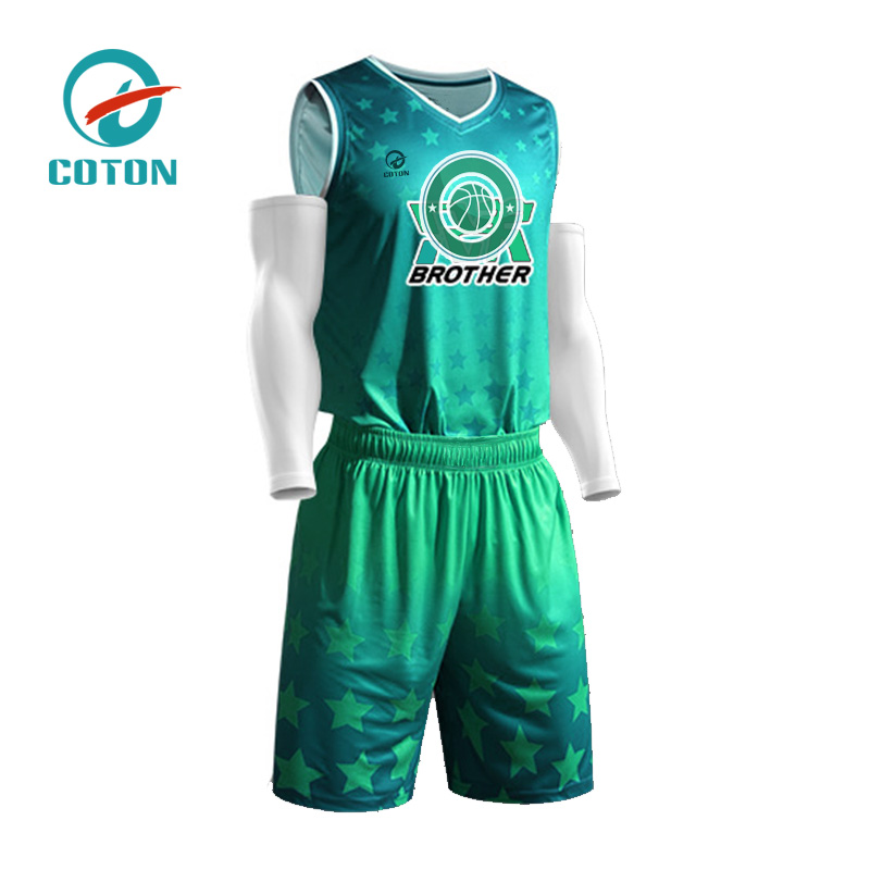 2019 neue Design-Basketballuniform von China