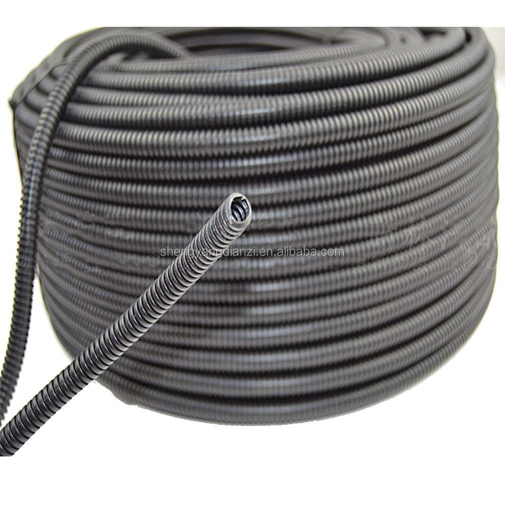 SY Mechanical And Electrical Wiring Protection Galvanized Hose With PVC Coated