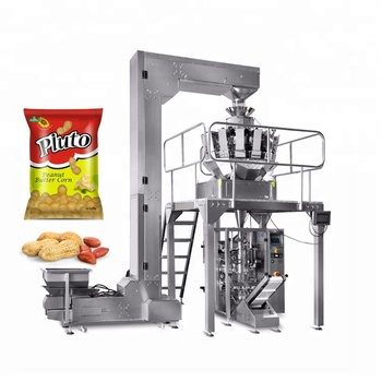 14 Heads Weigher Packing Machine With Multihead Weigher