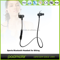 IPX waterproof sports bluetooth earphone for mobile phone