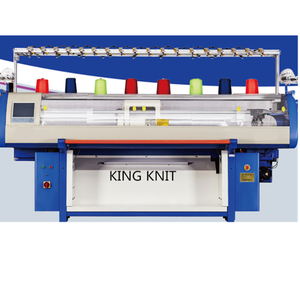 52 inch 3 system 3d flat knitting machine for shoe upper knitting