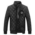 2016 Casual Jacket Men Warm Coat Black Outwear Chaquetas Plumas Hombre Mens Coats Jackets Stand Collar