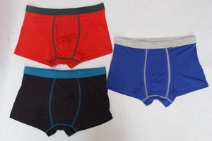 Three colors design underwear boxer for men