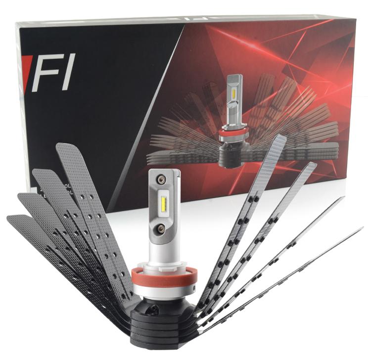 Wholesale auto parts 4000lm led headlight , H4 H7 H13 XD14 chip car led , high power led head light