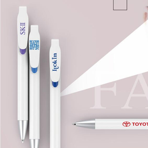 Creative pharmaceutical gift customization advertising neutral pen black blue ink refill click gel pen with big clip print logo
