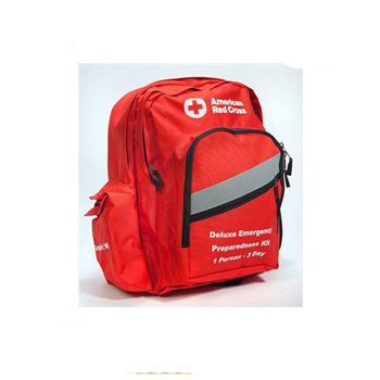 red red cross backpack for nurse