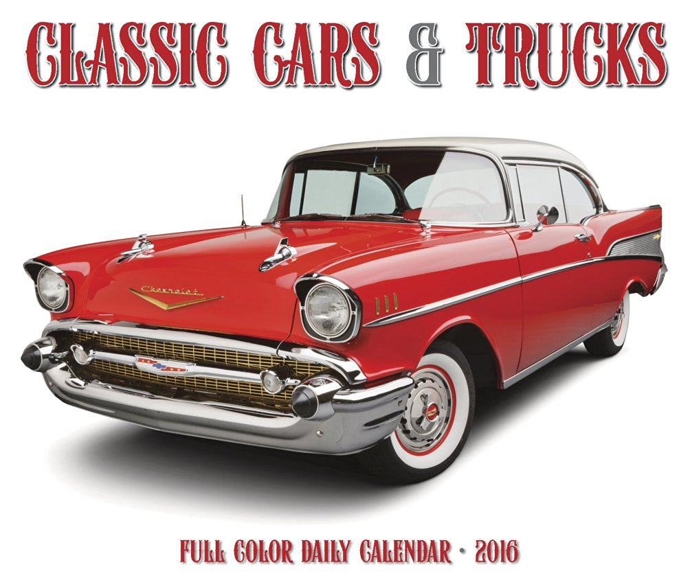 Classic Cars & Trucks - 2016 Boxed Calendar 6 x 5in