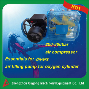 For divers! Chinese supplier low price 42kg portable scuba diver air compressor