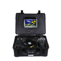 "BESNT Europe Hottest 7"" LCD Color Monitor 600TVL/700TVL 360 Degree Underwater Camera For Fishing"