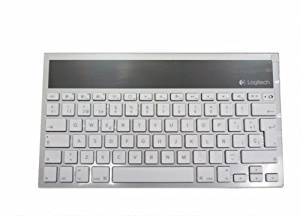 c43a01c6d07 Logitech Wireless Bluetooth Solar Keyboard K760 For iPad, iPhone, iMac ( Spanish Version 920