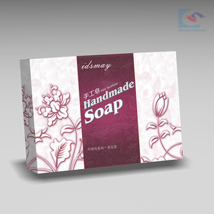 New Design custom handmade Soap packaging paper Box suppliers