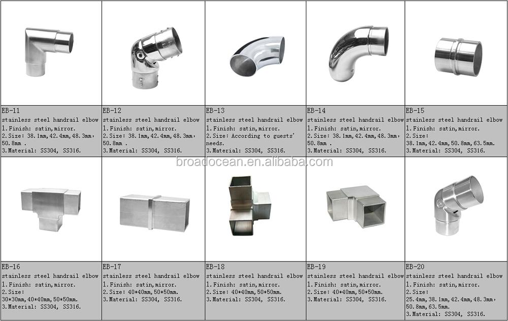 Eb stainless steel aluminum degree square tube