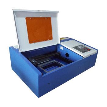 SH K40 40W Mini Lasergravierer Mit Lederstempel