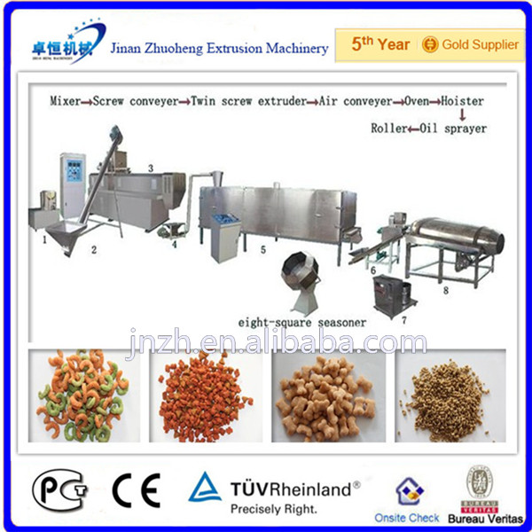animal pet fodder mixing machine/ animal feed making line