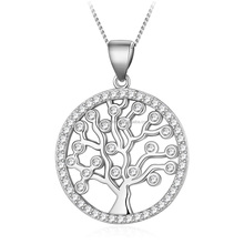 High Quality Tree of Life Pendant Sterling Silver925 5-8y1502-9600