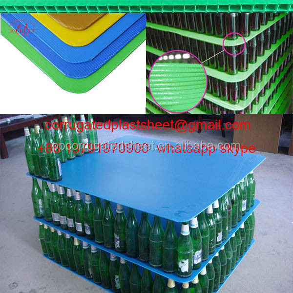 edges sealing corrugated plastic board