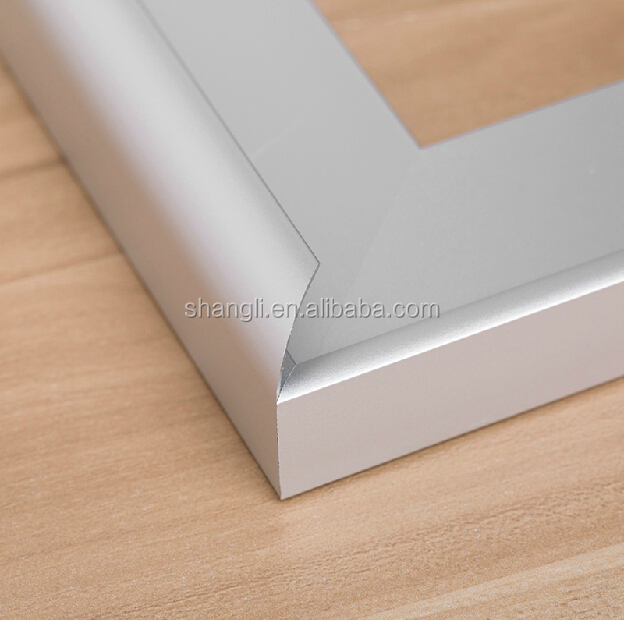 Foshan hardware decorative aluminium profile frame for kitchen cabinet window door frame