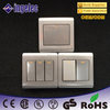 one way two way three way european type modular wall switch
