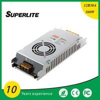 120vac to 12vdc power supply power supply module 12v 30a 360w led switching power supply