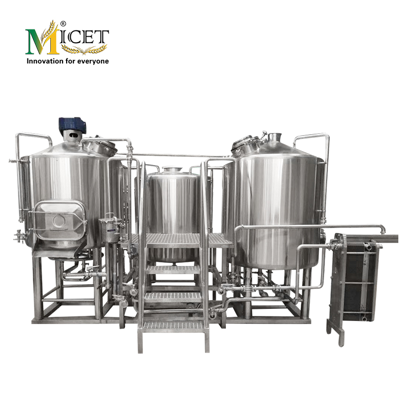 Micet beer brewing equipment 4/6 heads Cans Filling And capping machine