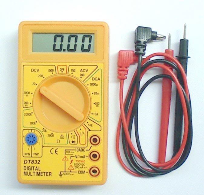 Инструкция к мультиметры dt 832