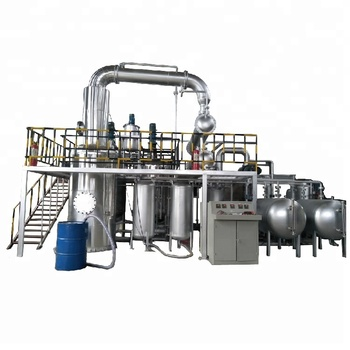 No Pollution Oil Refinery Convert Plastic Oil to Diesel