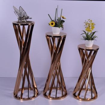 Luxury Design Wedding Decoration Metal Flower Stand Buy Flower