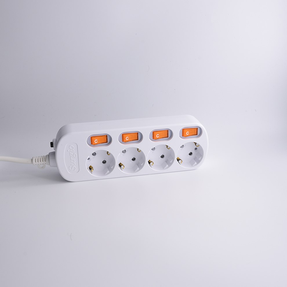 16a 250v power schuko plug european sockets and switches for 3 way electronic adaptor usb