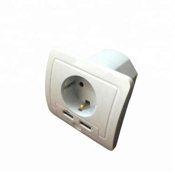 Ac 220v Wireless Wifi Usb Charger Smart Power Eu In Wall Socket ...